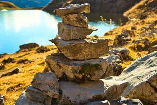 Stones, Live, Enjoy, Harmony, Motivation, Nature