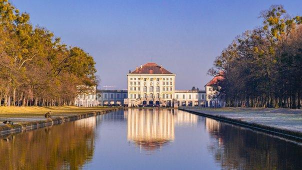 Munich, Castle, Places Of Interest, Nymphenburg Palace