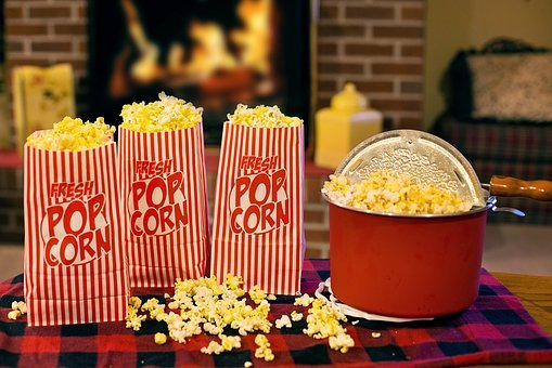 Popcorn, Movie Time, Snack, Delicious, Munchies