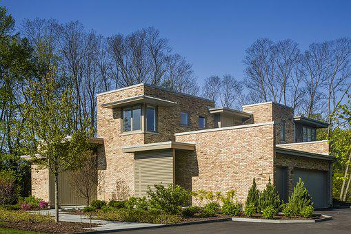 Contemporary, Residence, Brick, Architecture