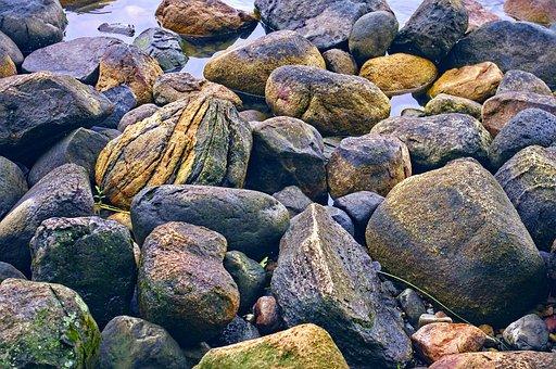 Mille Lacs Lake Rock, Rock, Stones, Water, Stone