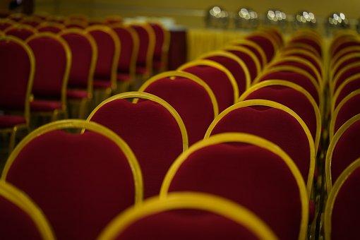 Convention Center, Chair, Seminar, Multi Colored