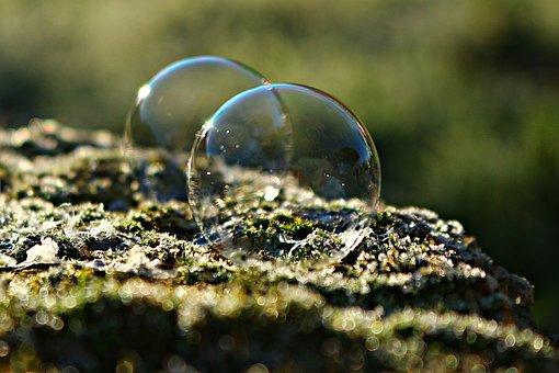 Ice Bubble, Frozen Bubble, Frost Bubble, Soap Bubble