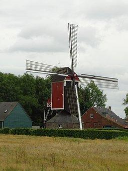 Place, Beegden, St Lindert, Mill, Building