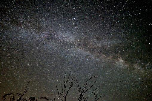 Milky Way, Starry Sky, Galaxy, Astronomy, Night