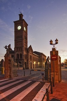Toledo, Spain, Railway, Station, Building, Historical