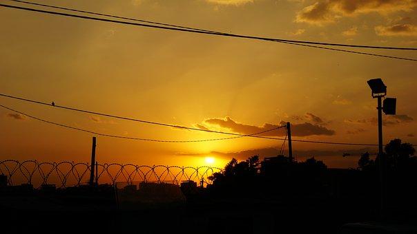 Sunset, Sun, Sunrise, Landscape, Sky, Night, Romantic