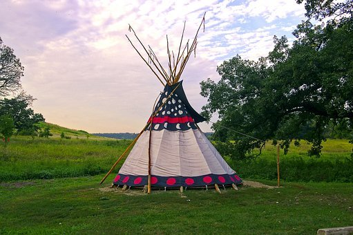 Upper Sioux Agency Teepee, Teepee, Tent, Indian, Tipi