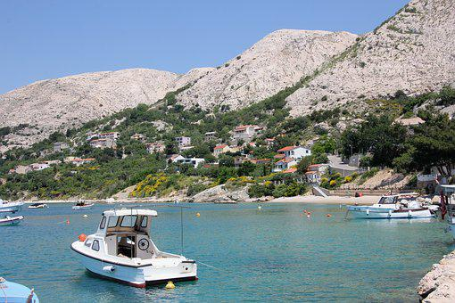 Port, Croatia, Krk, Sea, Boat, Ship, Adriatic Sea