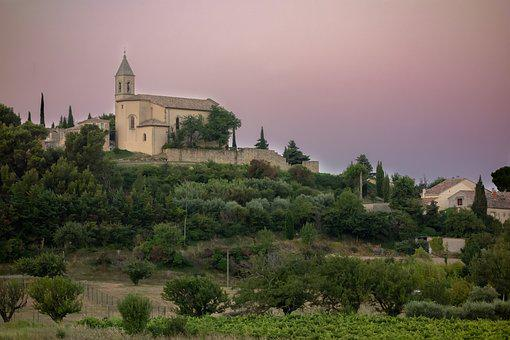 Cairanne, Provence, Alps, Side, Azur, Village