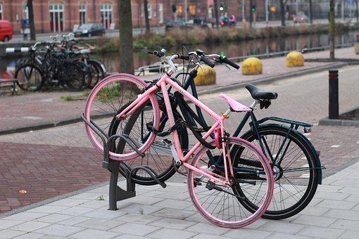Bike, Cycling, Bike Pink, Ride, Leisure, Adventure
