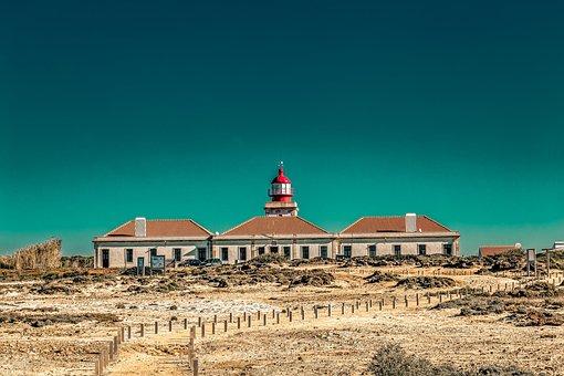 Lighthouse, Coast, Sea, Ocean, Beacon, Sky, Light