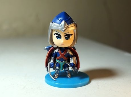 Toy, Figurine, Video, Game, Online, Youtube, Character