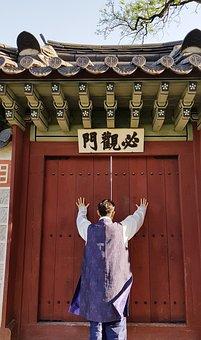 Design Quantity, Gyeongbok Palace, Traditional, Hanbok