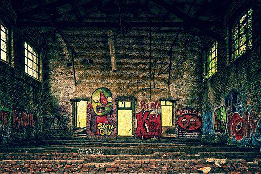 Lost Places, Pforphoto, Hall, Lapsed, Factory, Decay