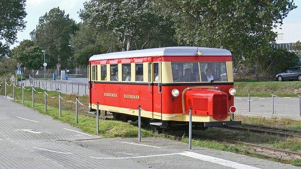Borkumer Kleinbahn, Narrow Gauge, Historic Railcar