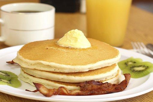 Hotcakes, Waffles, Food, Breakfast, Flour, Tasty