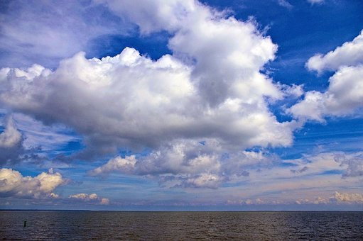 Clouds Over Mille Lacs, Mille, Lacs, Minnesota, Lake