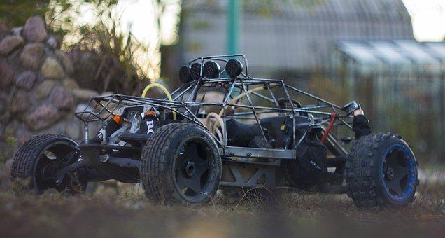 Hpi, Baja, Model, Remotely, Car, Rc-car, Auto, Toys