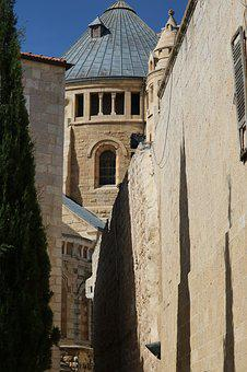 Dormition Abbey, Jerusalem, Monks, Monastery, Christian