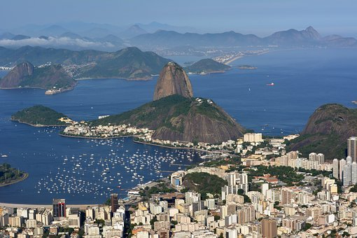 Brazil, Riodejaneiro, Nature, Mountain, Landscape