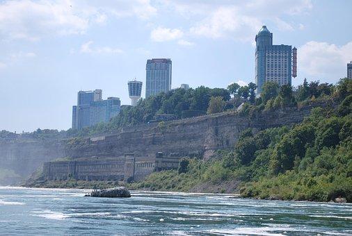 Niagara Falls, Waterfall, Niagara
