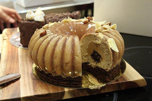 Cake, Milk, Del, Delicious, Bake, Kitchen, Pastries