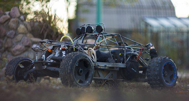 Hpi, Baja, Model, Remotely, Car, Rc-car, Auto, Toys