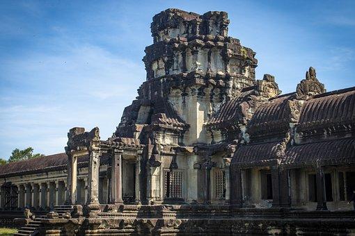 Cambodia, Ankgor Wat, Angkor, Siem Reap, Temple, Ruin