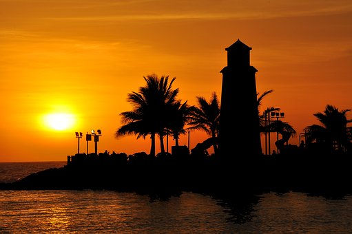 Jeddah Sunset, Seaside, Beach, Summer, Shore, Sea