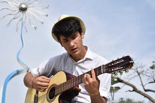 Musician, Singer, Music, Singing, Guitar, Young, Pop
