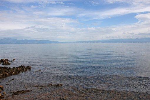 Croatia, Vacations, Sea, Sky, Clouds, Summer, Travel