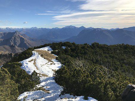 The Panorama From The Top Of The Fojorina, Alpine Route