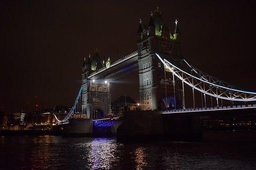 London, Tower Bridge, Bridge, Monument