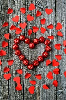 Rose, Valentine's, Valentine's Day, Love, Red, Heart