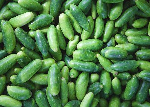 Eat, Food, Cucumber, Green, Vegetables, Healthy