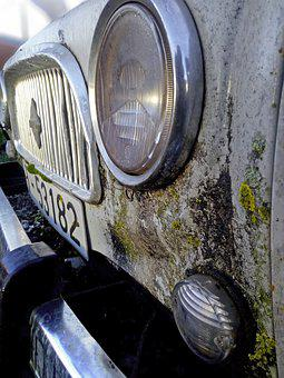Car, Old, Vintage, Rusty, Ironer, Renault 4