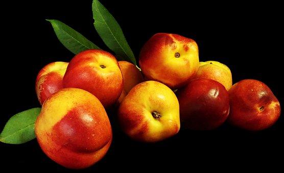 Fruit, Nectarines, Food, Healthy, Ripe, Vitamins