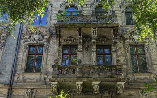 Facade, House, Decay, Architecture, Building, Window