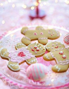 Gingerbread Men, Women, Cookies, Christmas