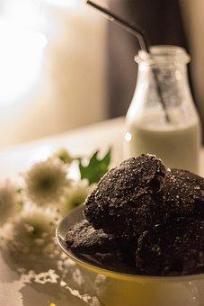 Cookie, Chocolate, Sweet, Food, Bake, Winter, Drink