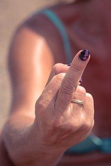 Middle Finger, Finger, Fun, Trend, Crazy, Popular