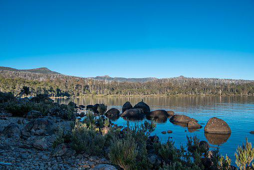 Lake St Clair, Lake, Cynthia Bay, Tasmania, Nature
