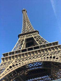 Eiffel Tower, Paris, France, Torre, City, Tourism