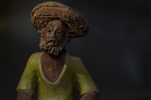 Craft, Figurine, Clay, Art, Man, Artesanato, Estatueta