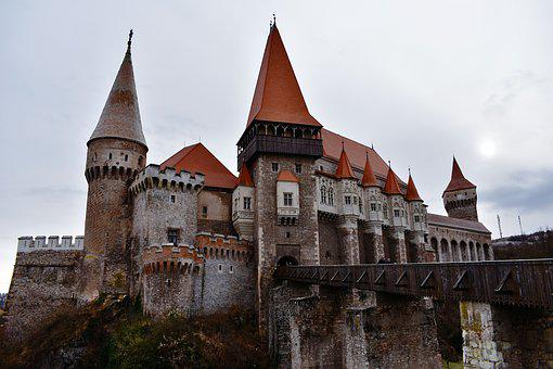 Castle, Fortress, Bridge, Old, King, Queen, Medieval