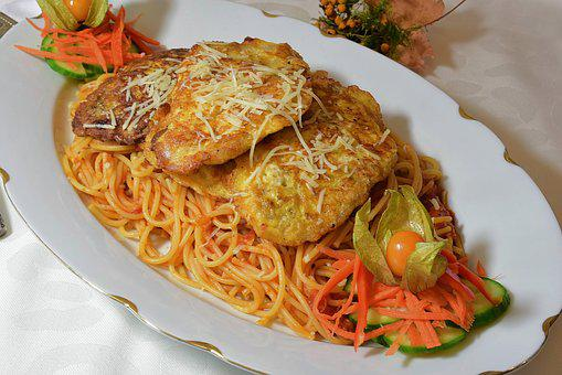 Piccata Milanese, Meat, Egg, Cheese, Fried