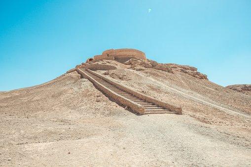 Iran, Historical, Persia, Yazd, Ancient, Historic
