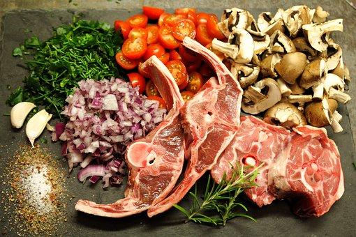 Lamb, Lamb Meat, Food, Eat, Rosemary, Lamb Chop