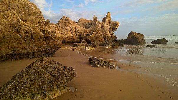 Algarve, Portugal, Summer, Beach, Sea, Landscape